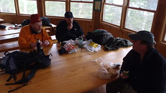 Lunch at Lonesome Lake
