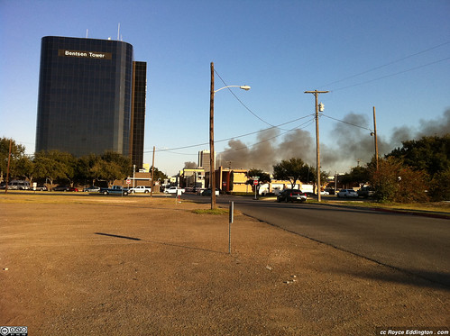 McAllen Medical Warehouse Fire Jan 2011 A