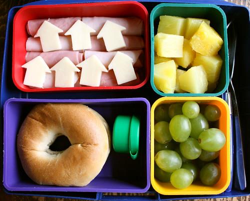 First Grader Bento #420: February 17, 2011