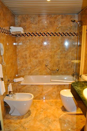 Baño de la habitación 427