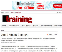 Quicken Loans Training team will national training award