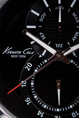 Kenneth Cole (Hatem Haneef) Tags: new york red newyork black photography nikon flickr cole watches steel collection nikkor product kenneth chronograph stainless stainlessteel kennethcole 105mm d80 nikkorlenses 105mmlens  colecollection