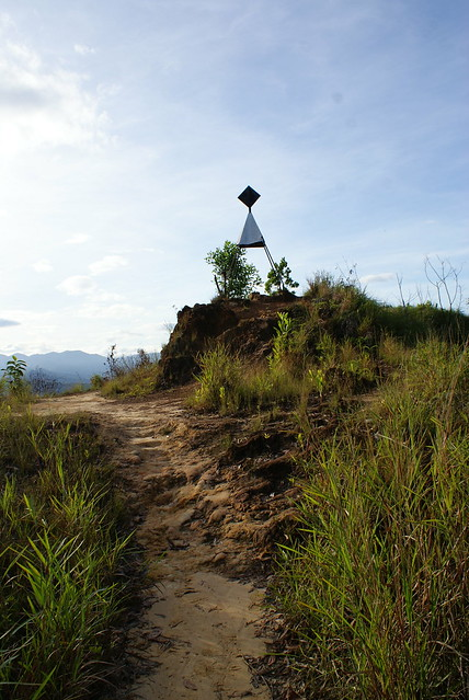 Highest point marker