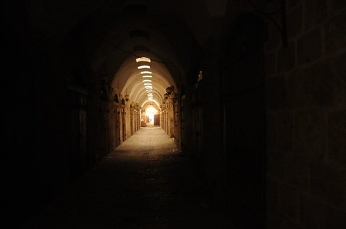 Enclosed street