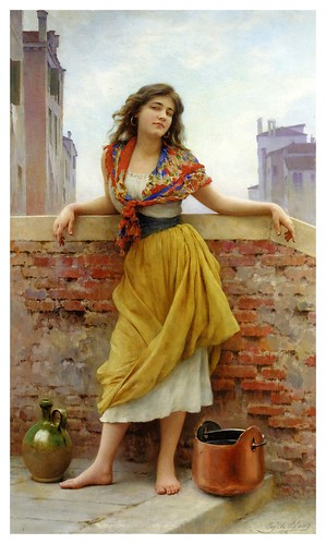 001-Eugene de Blaas 1908-Aguadora
