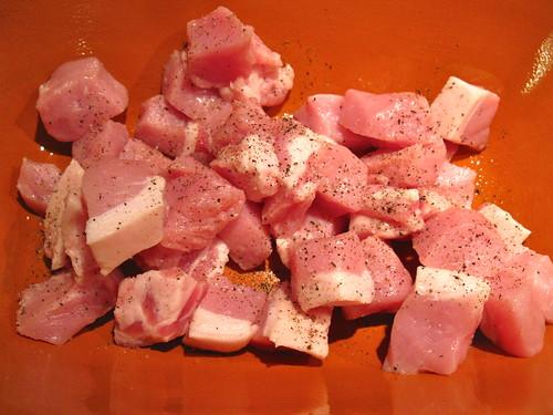 Romertopf Pork Cutlet in Tomato sauce