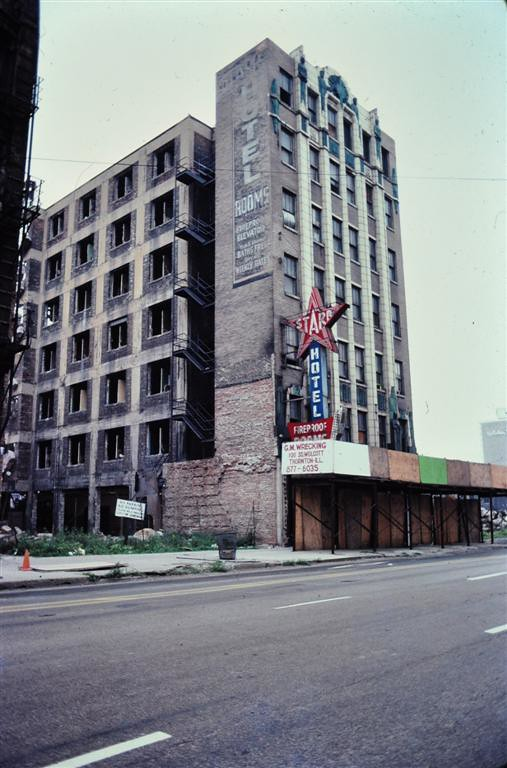 Star Hotel  1981 Madison and Clinton Streets
