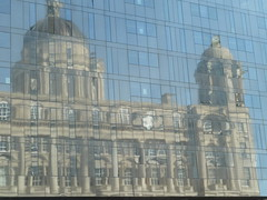 Port of Liverpool Building (Thomas Kelly 48) Tags: reflection liverpool pierhead portofliverpoolbuilding mannisland