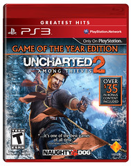 UNCHARTED 2: Game of the Year Edition Greatest Hits for PS3