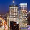 One World Trade Center Progress: Almost Twin Towers? (RBudhu) Tags: newyorkcity wtc gothamist groundzero sevenworldtradecenter oneworldtradecenter