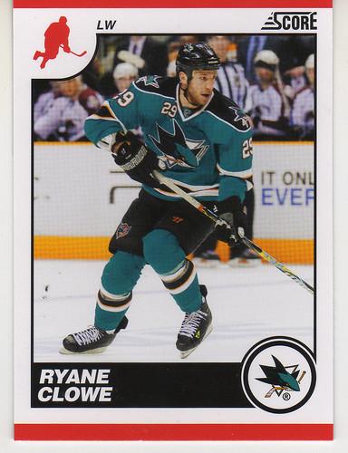 Score - Ryan Clowe front