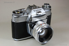 Bessamatic CS on Display (01) (Hans Kerensky) Tags: 50mm x cs 12 voigtlnder bessamatic septon synchrocompur