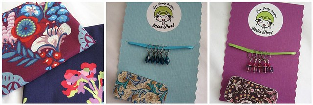 Fat Quarters and Stitch Markers
