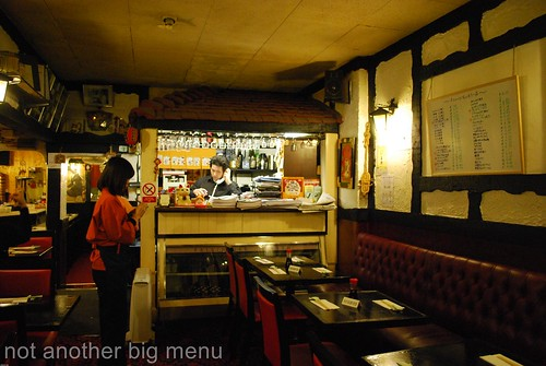 Asakusa, Camden - Restaurant interior