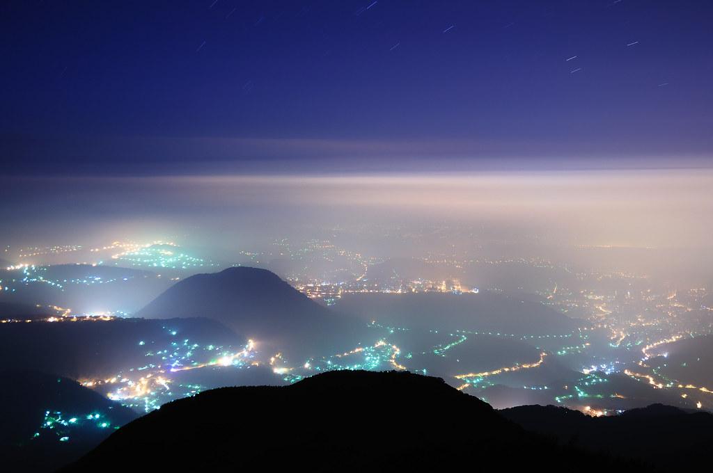 大屯山之夜 - 迷霧台北城