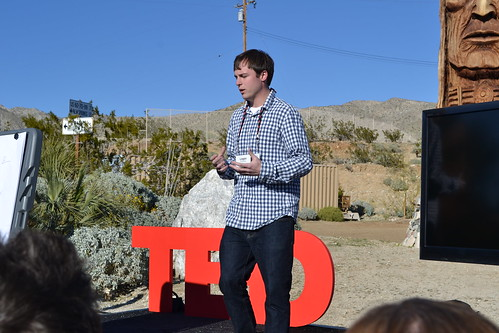 Logan Smalley, TED Fellow