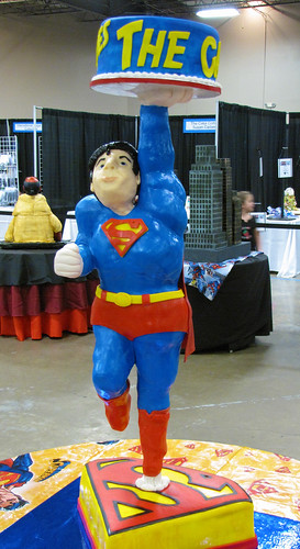 Superman Saves the Cake