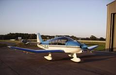 Robin DR400-140B Dauphin 4 (JPC24M) Tags: tarmac airplane aircraft hangar aeroclub avion blueandwhite flyingclub bleuetblanc aroclub monomoteur aviondetourisme avionrobin fggjs robinaircraft