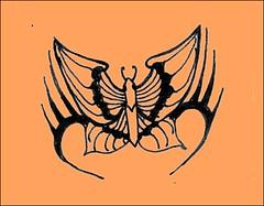 henna tattoo-butterfly design (april-mo) Tags: henna bodyart mehndi hennatattoo henné menhdi hennadesign tatouageauhenné hennatattoomotif hennatattoobutterflymotif