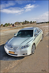 camry ~ hdr (mazen-ahmed oj) Tags: sea sky hdr camry mazen 550 d550