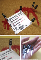 Kill Bill: Sword Push Pins