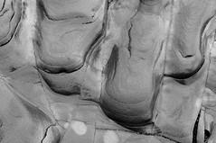 Sandstone Art (AmyZZZ1) Tags: blackandwhite art nature sandstone natural michigan erosion worn lakesuperior wonders