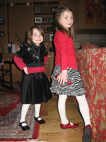 Red, black & white for Dr. Seuss's birthday