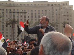 Safwat Hegazy at Tahrir square