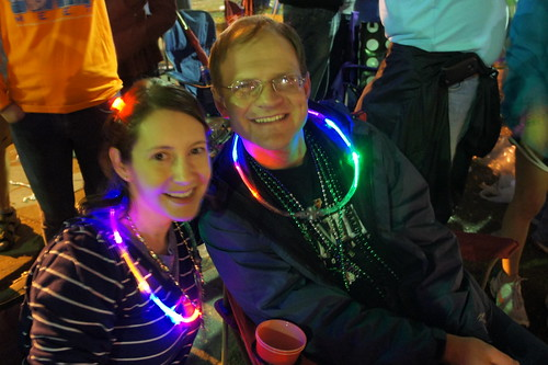 Hubby and I at the parades!