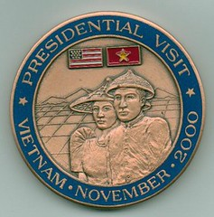 President Clinton Challenge coin