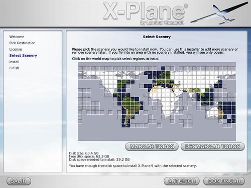 X-Plane installation