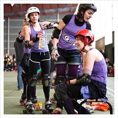 Roller Derby (popopingpong) Tags: rollerderby girlpower