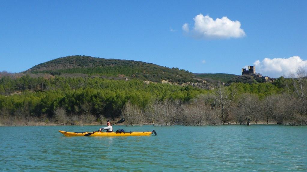 Pantano de Yesa en kayak 024