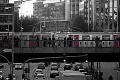 Rdingsmarkt (redstarpictures) Tags: bw train germany deutschland traffic hamburg zug ubahn sw bahn u3 verkehr ubahnstation hansestadt rdingsmarkt undergroundtrain ludwigerhardstrase willybrandstrase alatstadt