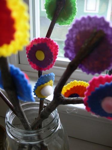 Jenny: Stick Flowers
