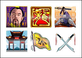 free The Last King of Egypt slot game symbols