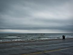 remnant (DigitalLyte) Tags: galveston rain training texas seawall thunderstorm galvestonisland lumixfz35