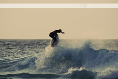 Bleached (Sweet_Dee) Tags: hawaii big surf waves oahu action surfer surfing retro stop northshore banzaipipeline