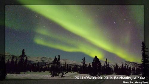 床墊秋刀魚收到零下40度.地球另一端的北極光3
