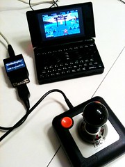 Youth revisited (P1r) Tags: classic atari joystick linux ik xfce ngstrm emulation retrogaming atarist tac2 internationalkarate hatari suncom openpandora totallyaccuratecontroller stelladaptor archermaclean