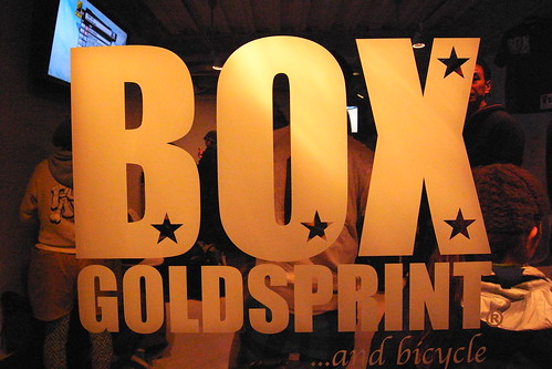 GOLDSPRINT BOX Opening Party