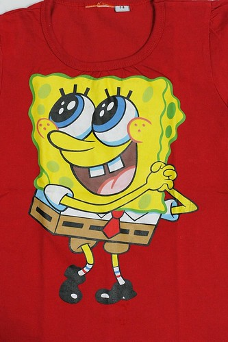 Spongebob Squarepants (on T-Shirt)