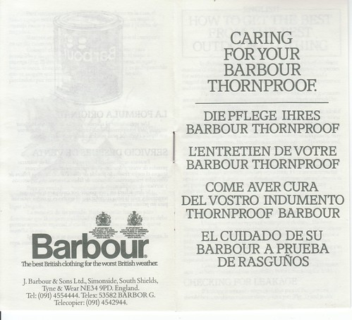 Barbour Caring 1