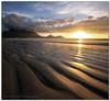 Sand Ripple Sunset (Panorama Paul) Tags: sunset capetown tablemountain nohdr sigmalenses milnertonbeach nikfilters vertorama nikond300 micarttttworldphotographyawards micartttt wwwpaulbruinscoza paulbruinsphotography michaelchee