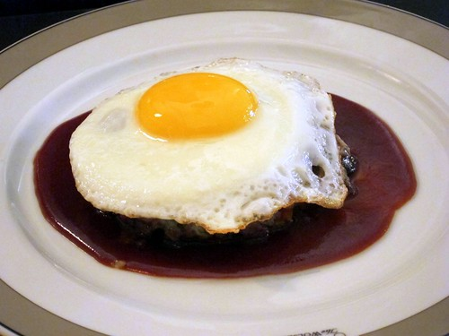 Salt Beef Hash with Fried Egg