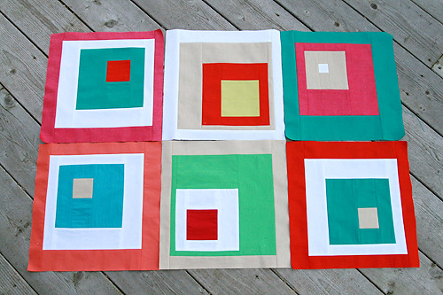 Off-Centered Squares Solids