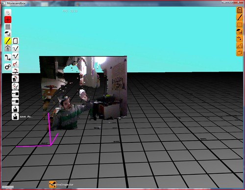 kinect preview in moviesandbox