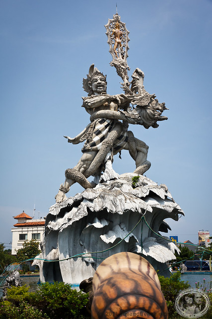 Bhima Monument In Kuta
