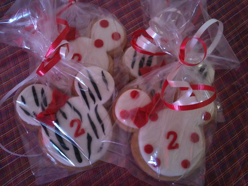 Minnie Mouse Cookie Favors #2