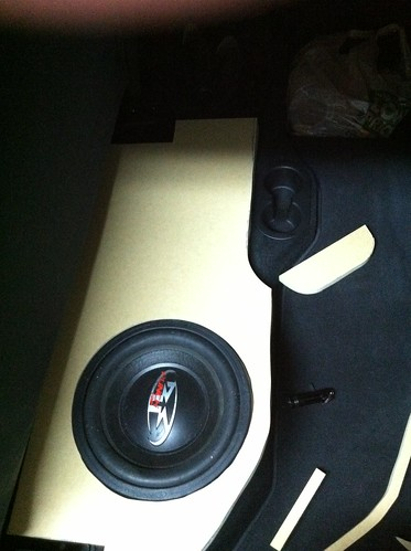 Custom Fiberglass Enclosure For 12 Rockford Sub Dodge Ram Forum